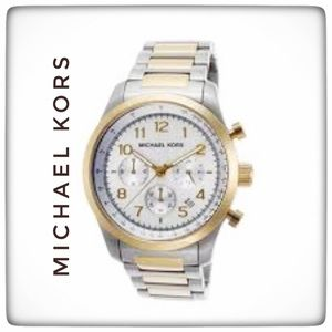Michael Kors Mens MK-8144 Runway Watch NWT